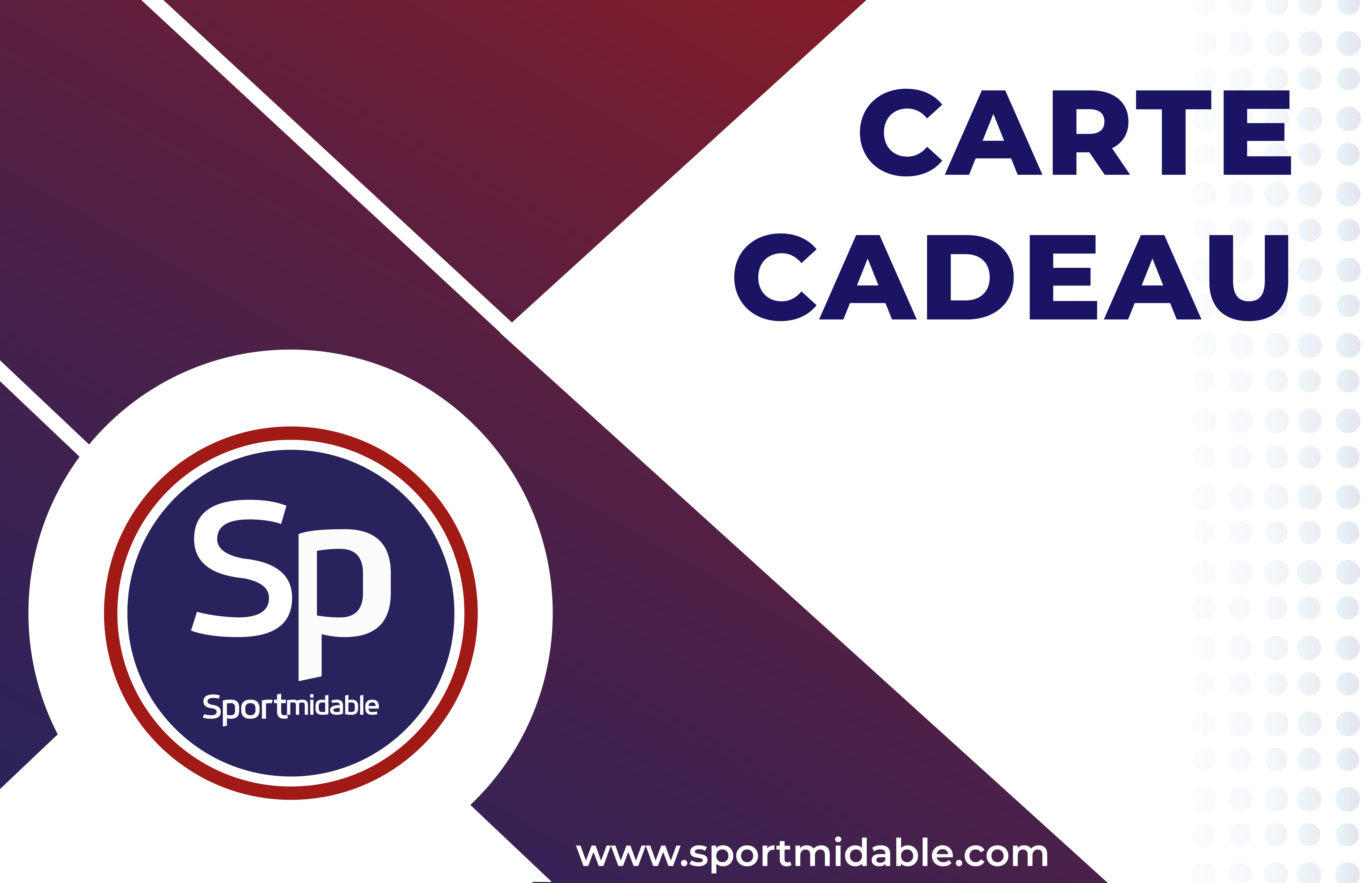 Carte Cadeau Sportmidable