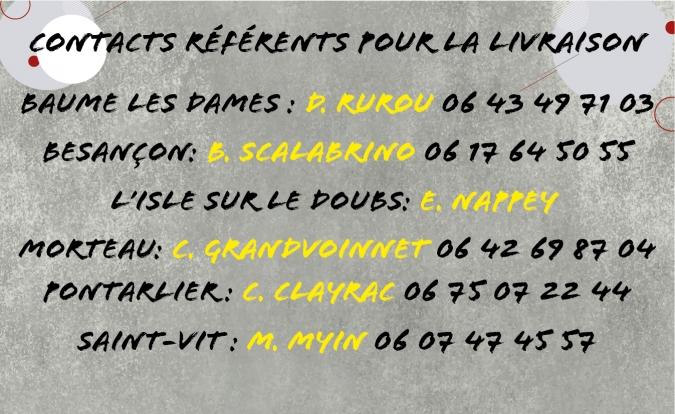 Contact référent section