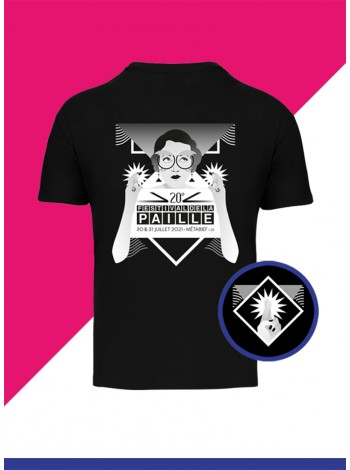 P'tit T-shirt Noir  - I Believe I Can Paille 2021